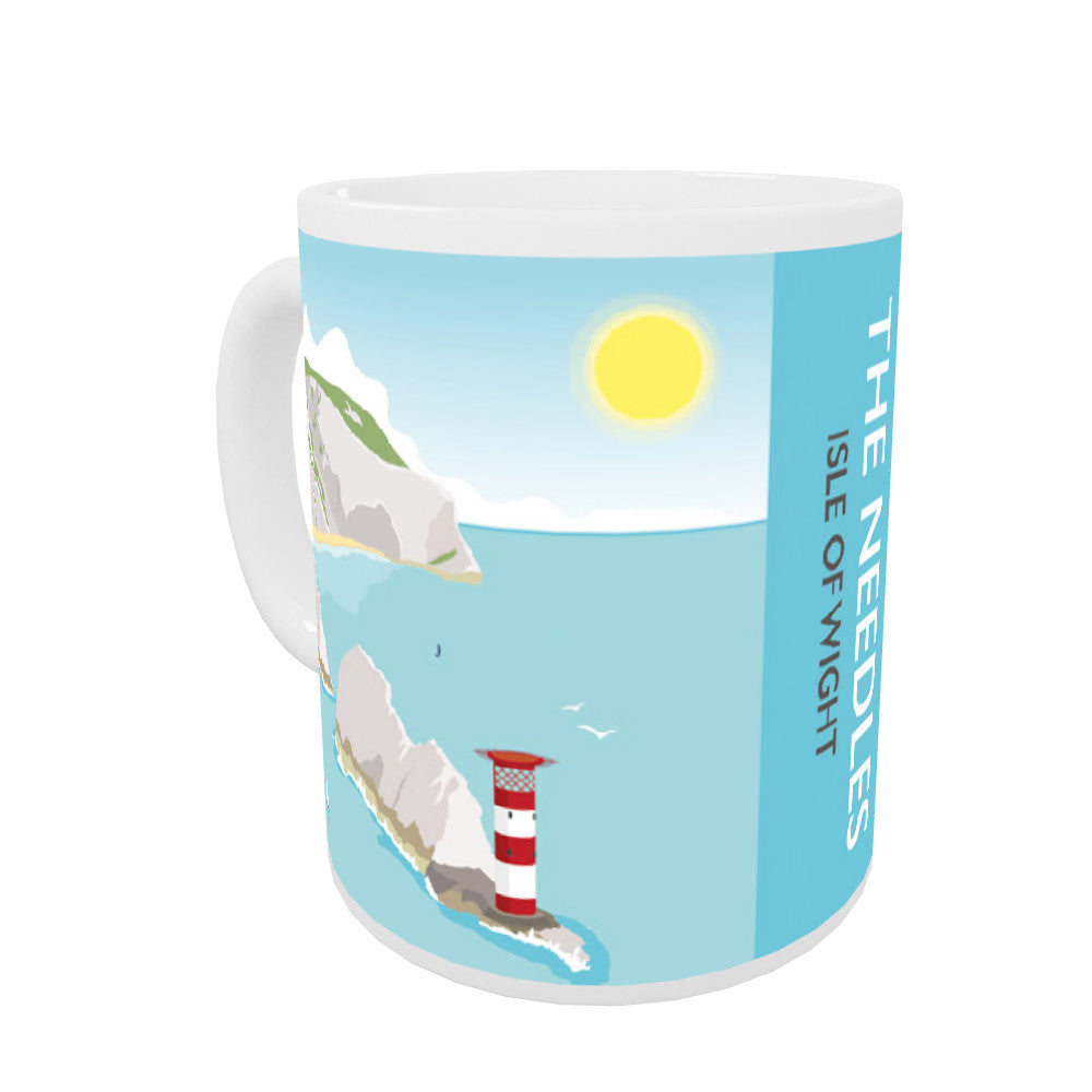The Needles, Isle of Wight Coloured Insert Mug