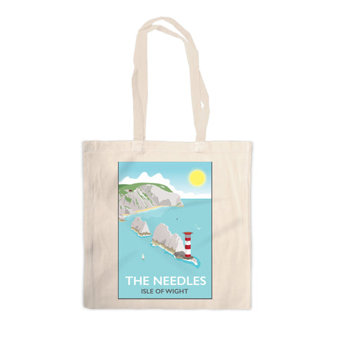 The Needles, Isle of Wight Canvas Tote Bag