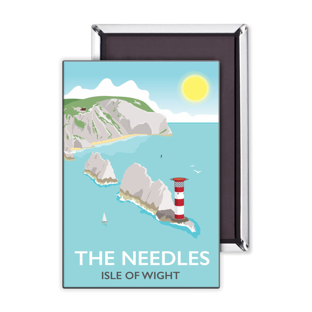 The Needles, Isle of Wight Magnet