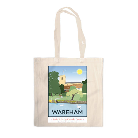 Wareham, Dorset Canvas Tote Bag