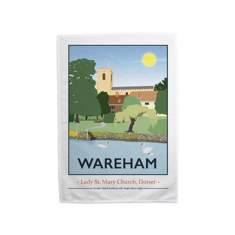 Wareham, Dorset Tea Towel