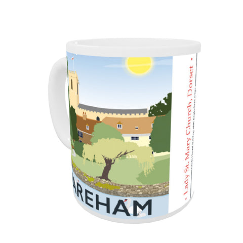 Wareham, Dorset Coloured Insert Mug