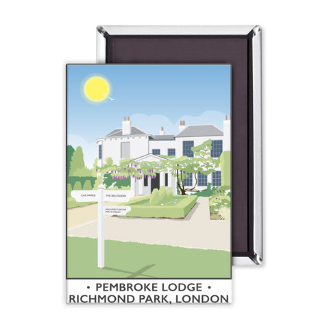 Pembroke Lodge, Richmond Park, London Magnet