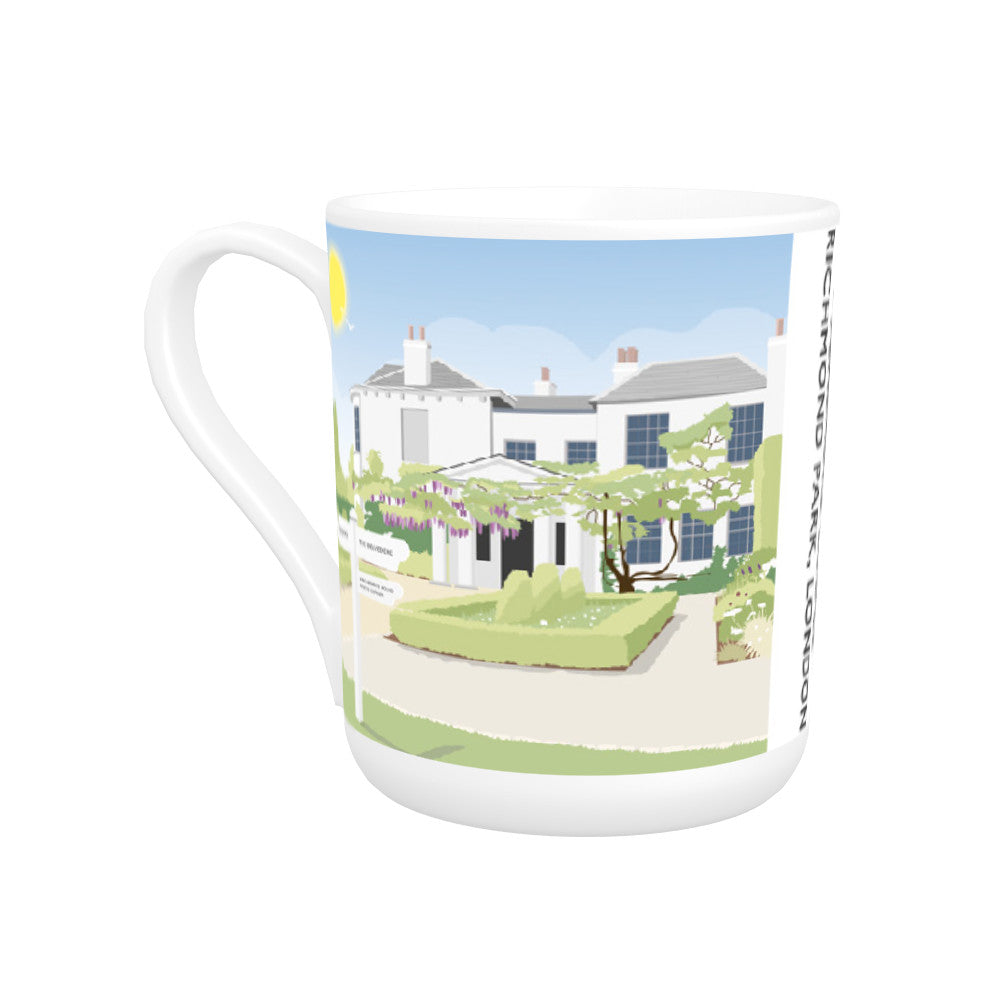 Pembroke Lodge, Richmond Park, London Bone China Mug