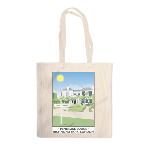 Pembroke Lodge, Richmond Park, London Canvas Tote Bag