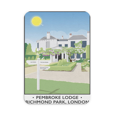 Pembroke Lodge, Richmond Park, London Mouse mat