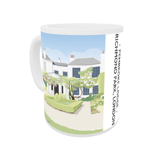Pembroke Lodge, Richmond Park, London Coloured Insert Mug