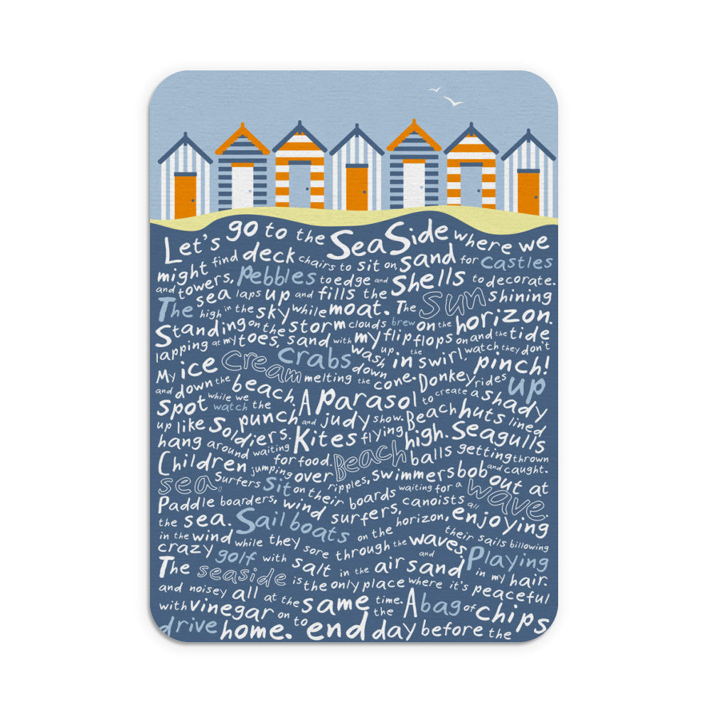Beach Huts, Mouse mat