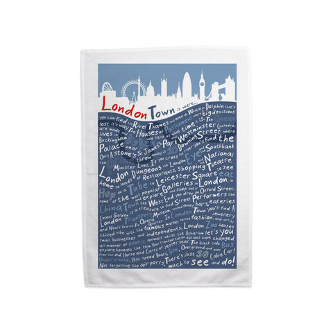 London Town, Tea Towel