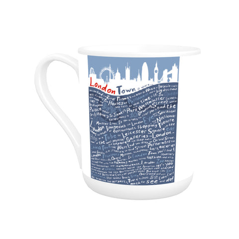 London Town, Bone China Mug