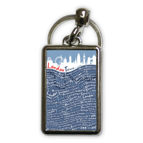 London Town, Metal Keyring