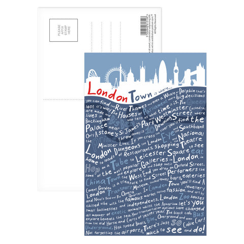 London Town, Postcard Pack