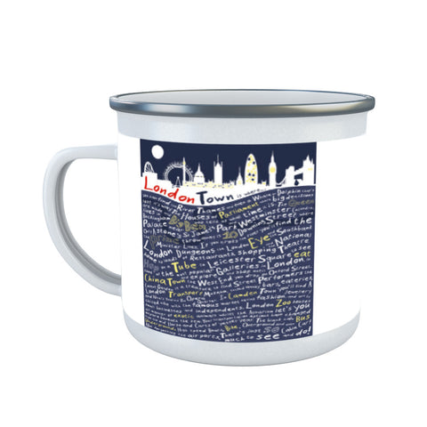 London Town, Enamel Mug