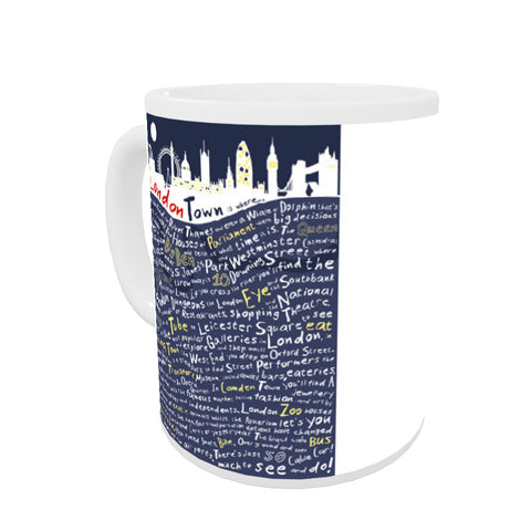 London Town, Coloured Insert Mug