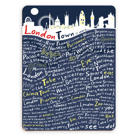 London Town, Placemat