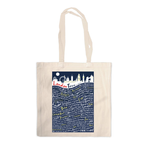 London Town, Canvas Tote Bag