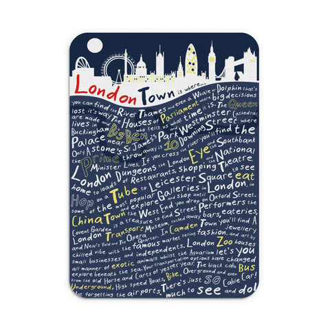 London Town, Mouse mat