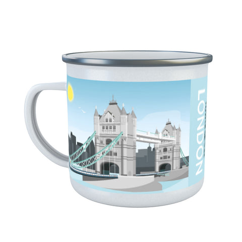 Tower Bridge, London Enamel Mug