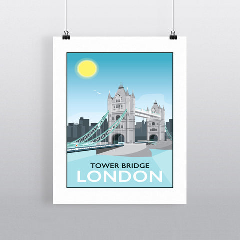 Tower Bridge, London 90x120cm Fine Art Print