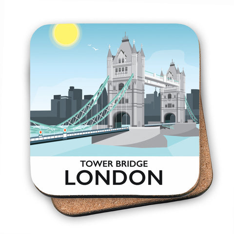 Tower Bridge, London MDF Coaster
