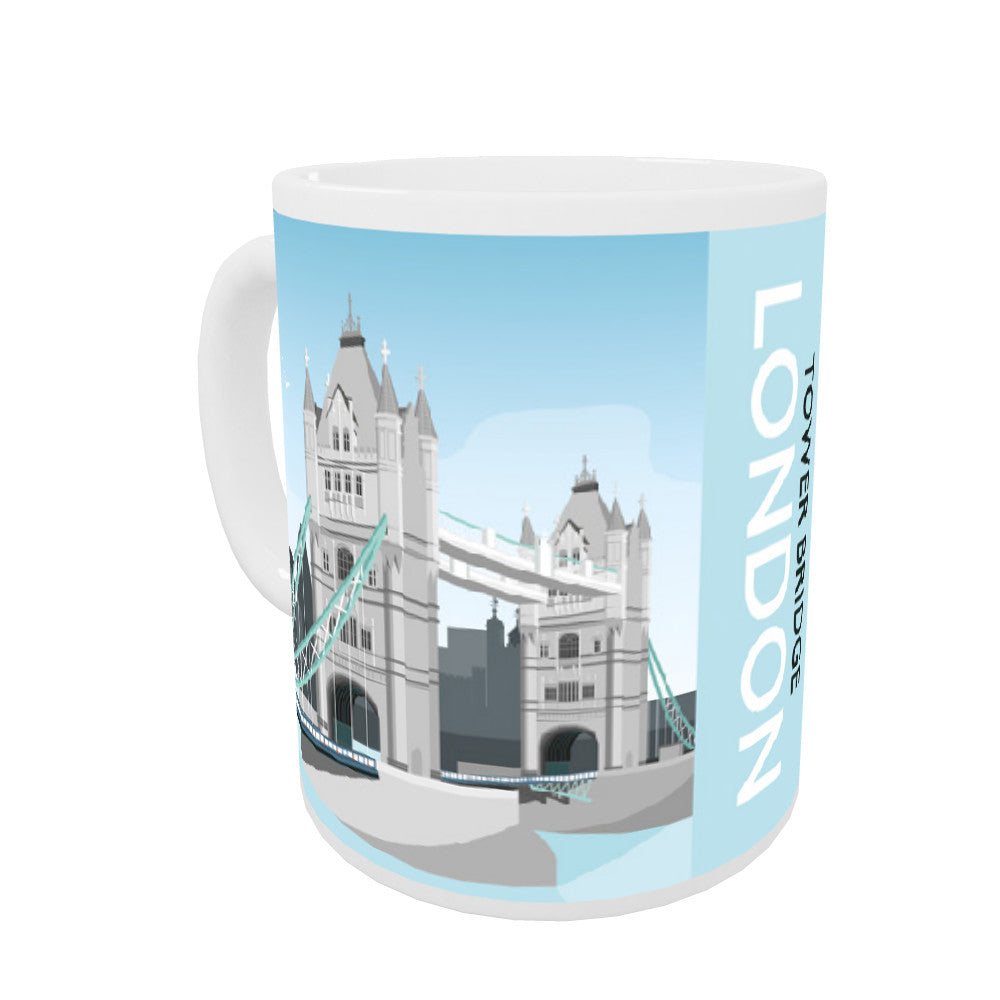 Tower Bridge, London Coloured Insert Mug