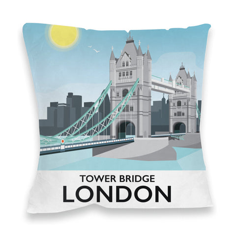 Tower Bridge, London Fibre Filled Cushion