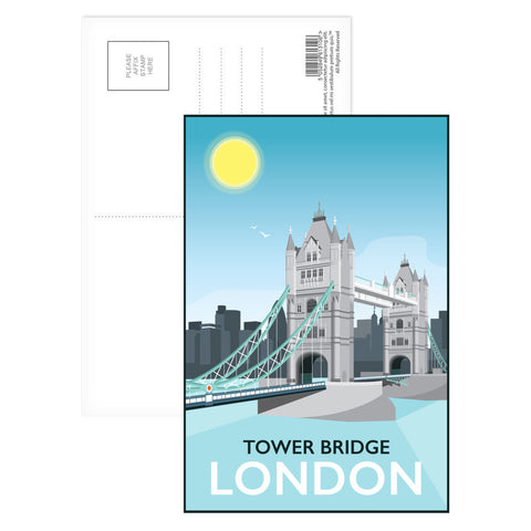 Tower Bridge, London Postcard Pack