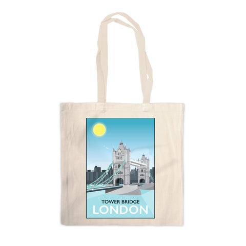 Tower Bridge, London Canvas Tote Bag