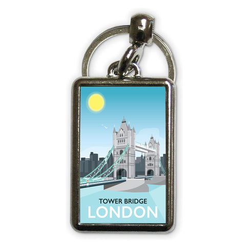 Tower Bridge, London Metal Keyring