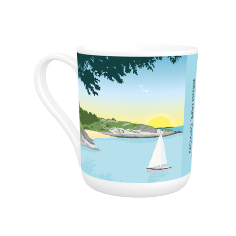 Fishcombe Cove, Brixham Bone China Mug