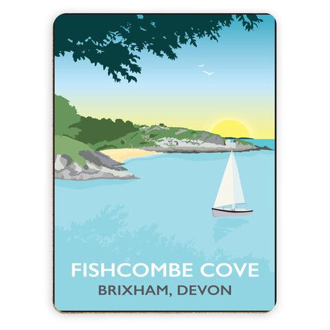 Fishcombe Cove, Brixham Placemat