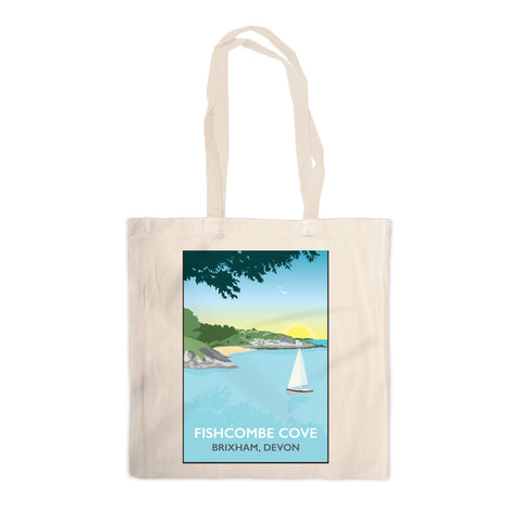 Fishcombe Cove, Brixham Canvas Tote Bag