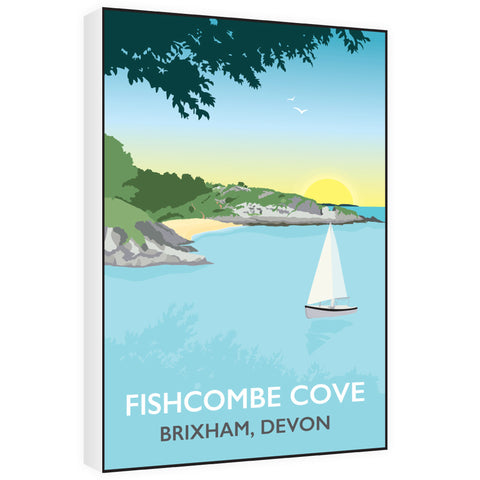 Fishcombe Cove, Brixham 60cm x 80cm Canvas