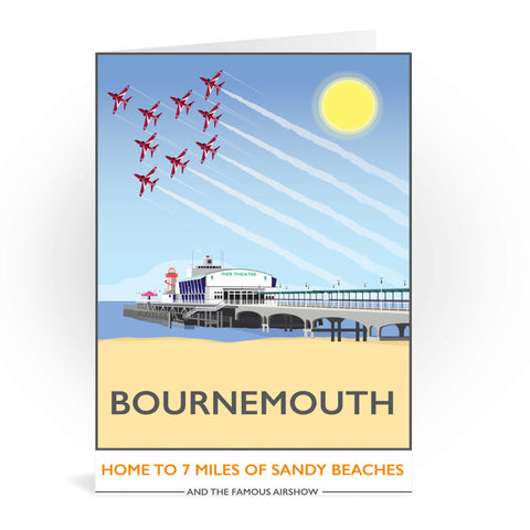 Bournemouth, Dorset Greeting Card 7x5