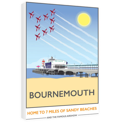 Bournemouth, Dorset 60cm x 80cm Canvas