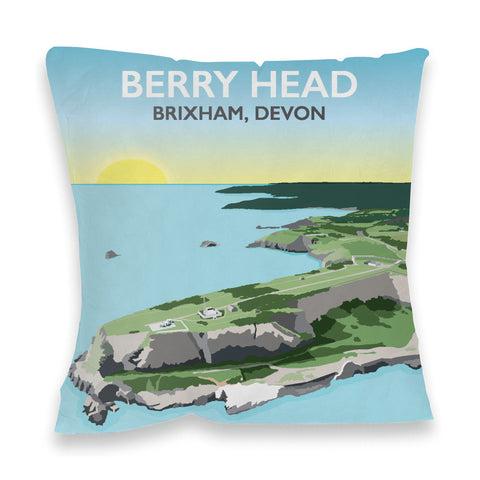 Berry Head, Brixham Fibre Filled Cushion