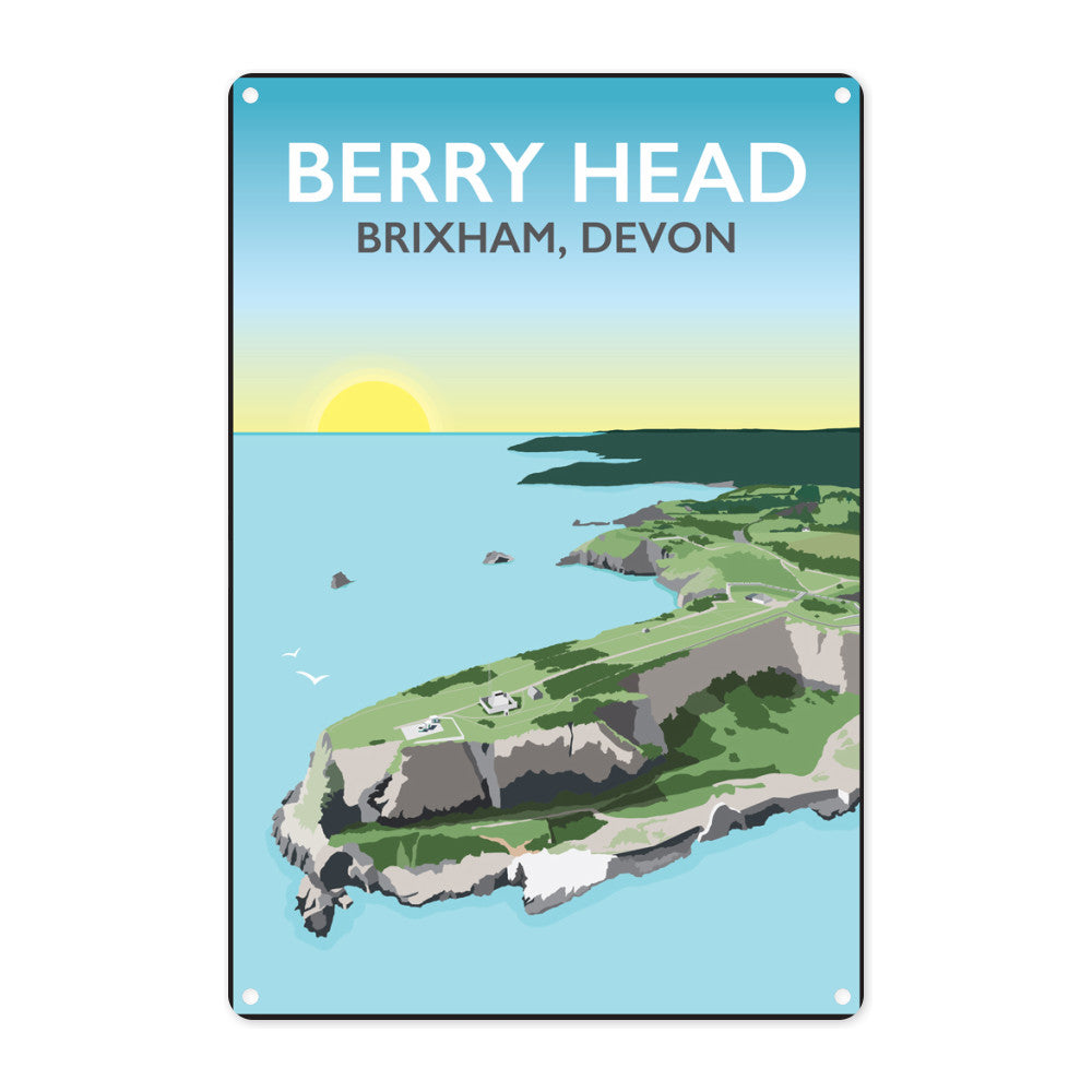 Berry Head, Brixham Metal Sign