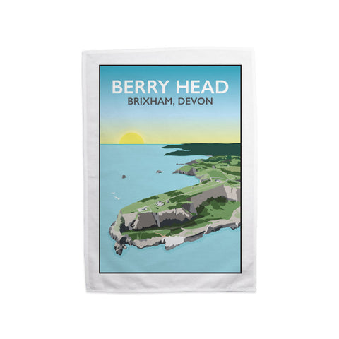 Berry Head, Brixham Tea Towel