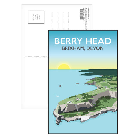 Berry Head, Brixham Postcard Pack