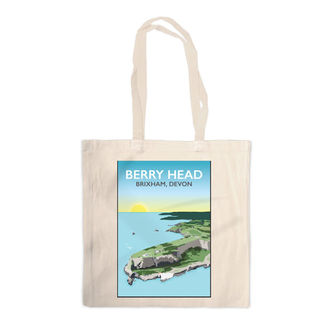 Berry Head, Brixham Canvas Tote Bag