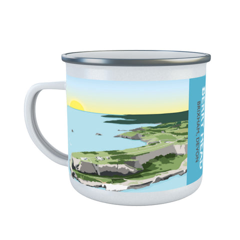 Berry Head, Brixham Enamel Mug