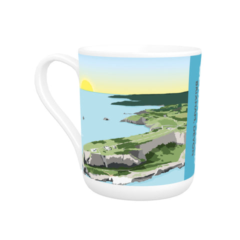 Berry Head, Brixham Bone China Mug