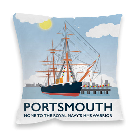 HMS Warrior, Portsmouth Fibre Filled Cushion