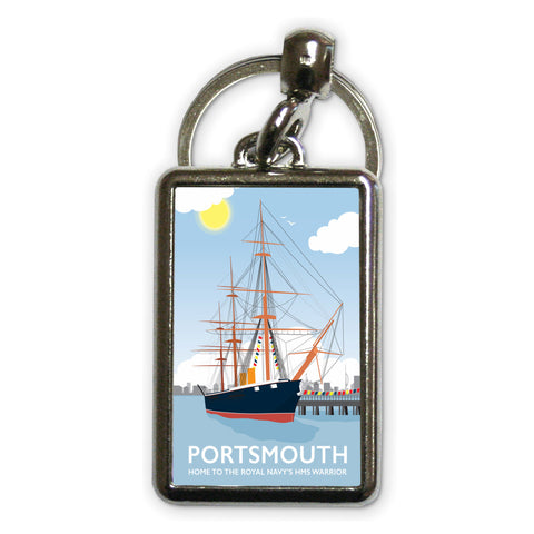 HMS Warrior, Portsmouth Metal Keyring