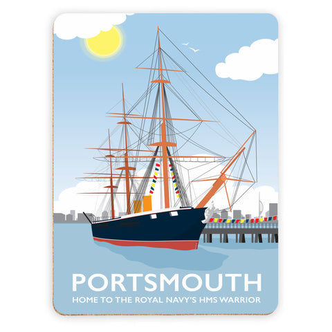HMS Warrior, Portsmouth Placemat