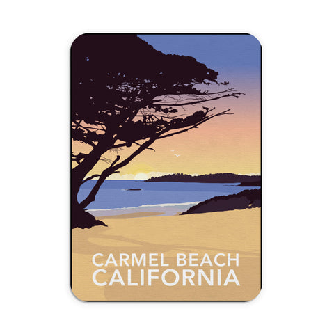 Carmel Beach, California Mouse mat