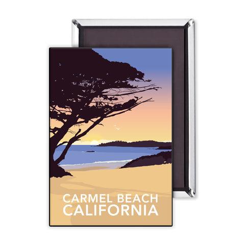 Carmel Beach, California Magnet