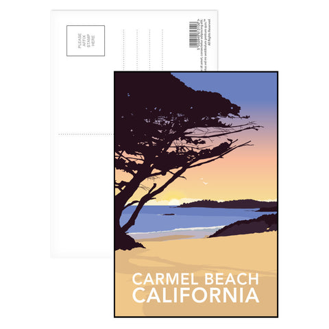 Carmel Beach, California Postcard Pack