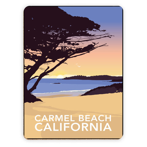 Carmel Beach, California Placemat
