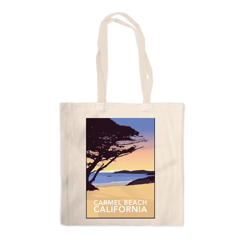 Carmel Beach, California Canvas Tote Bag